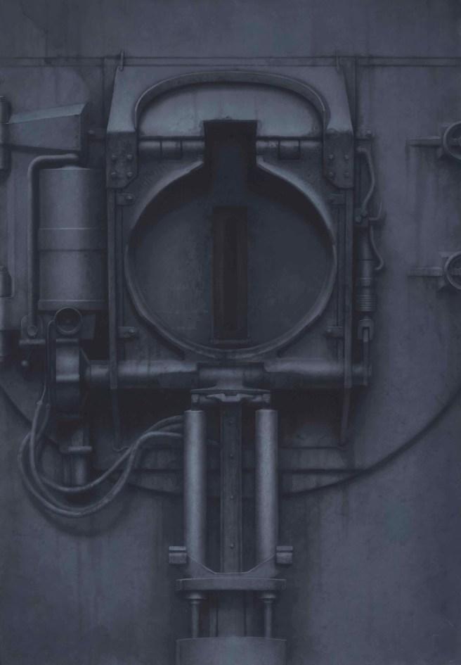 H.R Giger-Passage XXV-1972