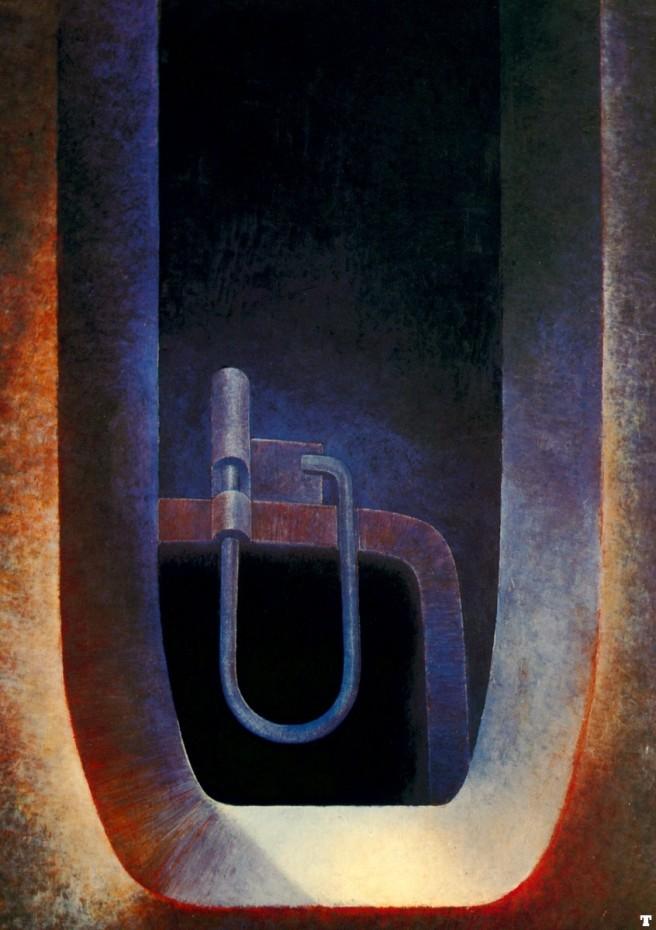 H.R Giger-Passage II-1970