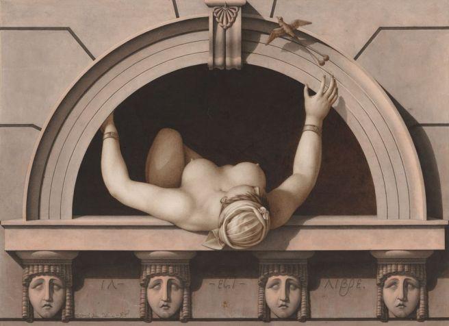 Jean-Jacques Lequeu-Il est libre-1798-1799