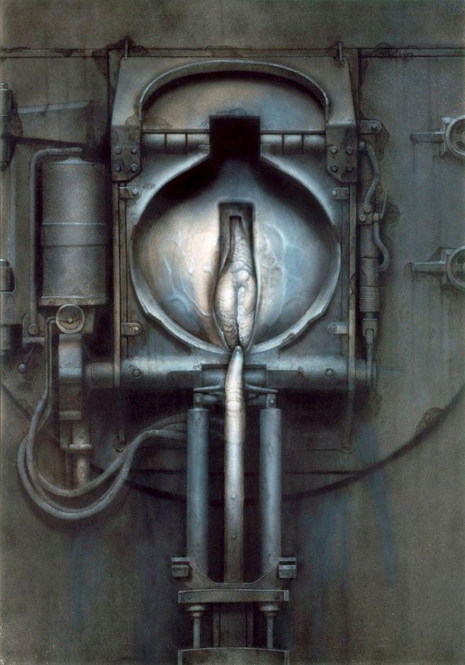 H.R Giger-Passage XXVIII-1973