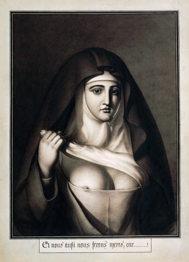 Jean-Jacques Lequeu-The Nun