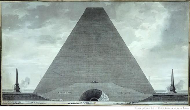 Étienne-Louis Boullée-Cenotaph