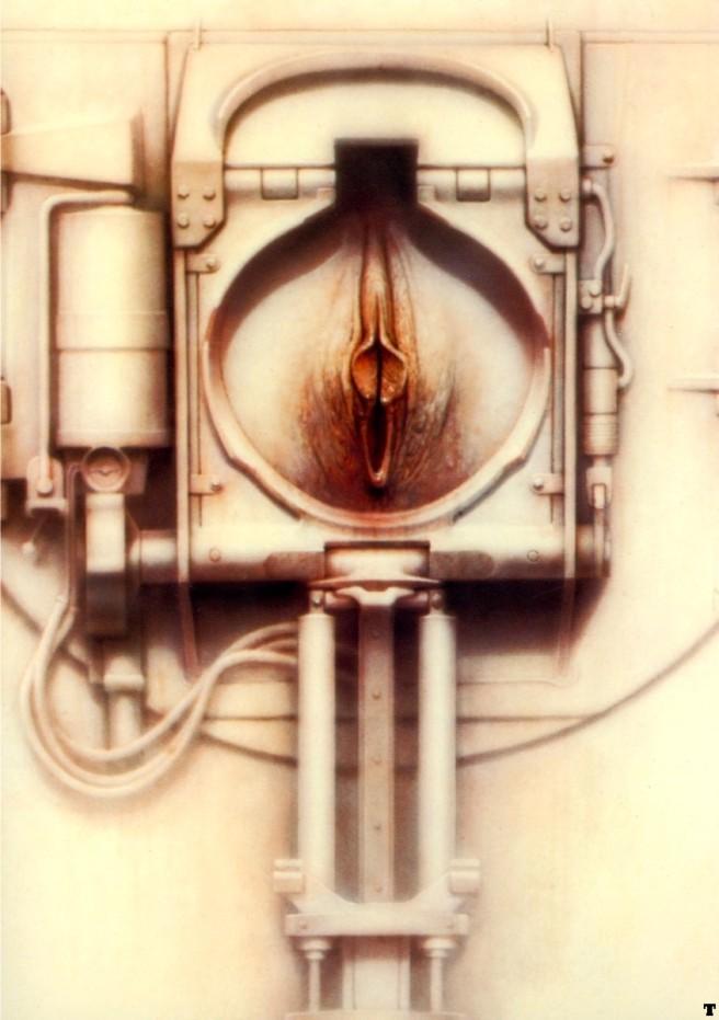 H.R.Giger-Passage XXIX-1973