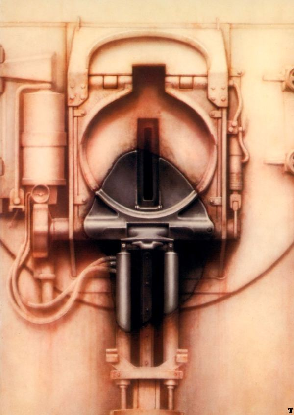H.R. Giger-Passage XXVII