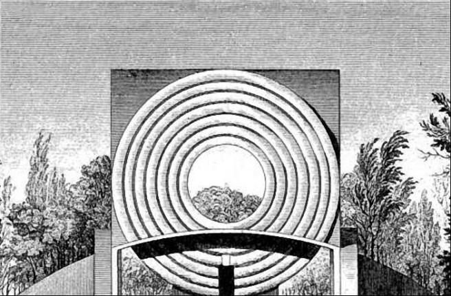 Claude-Nicolas Ledoux-house of Circles-Artists Studio