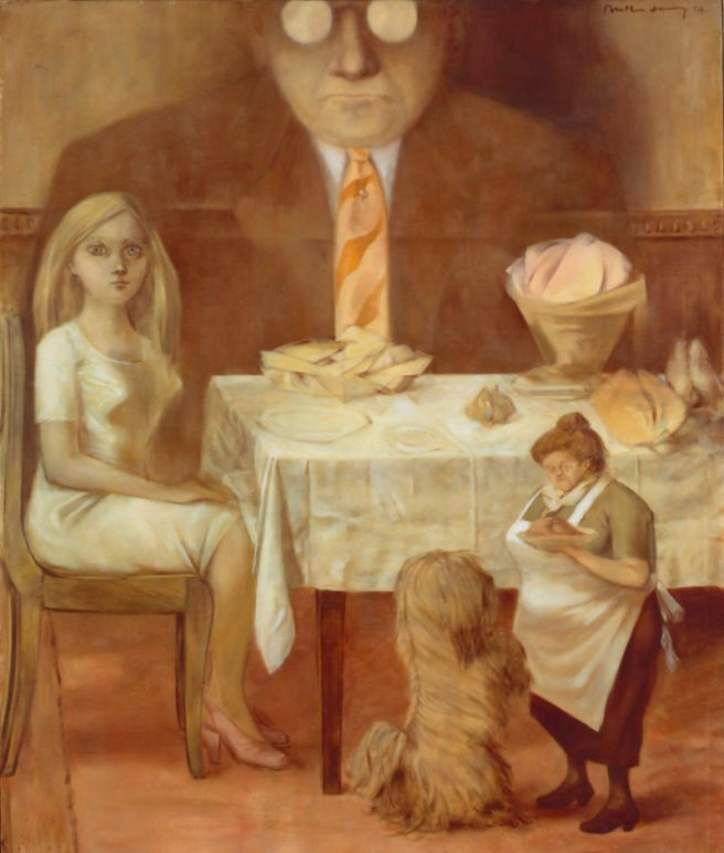 Dorothea Tanning-Family Portrait 1954