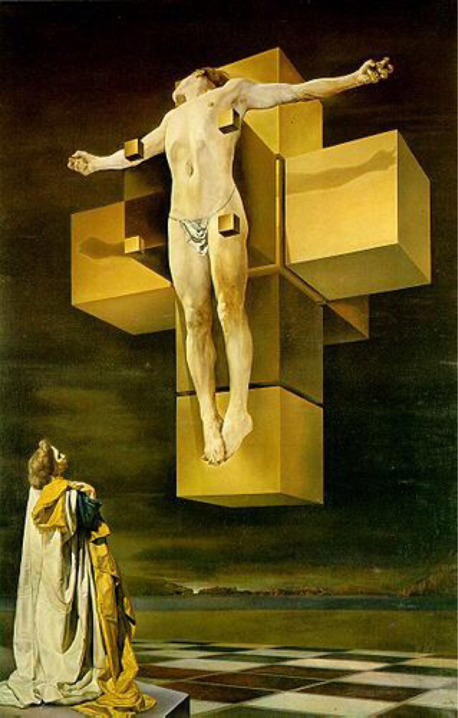 Hypercubic Christ-Salvador Dali 1954