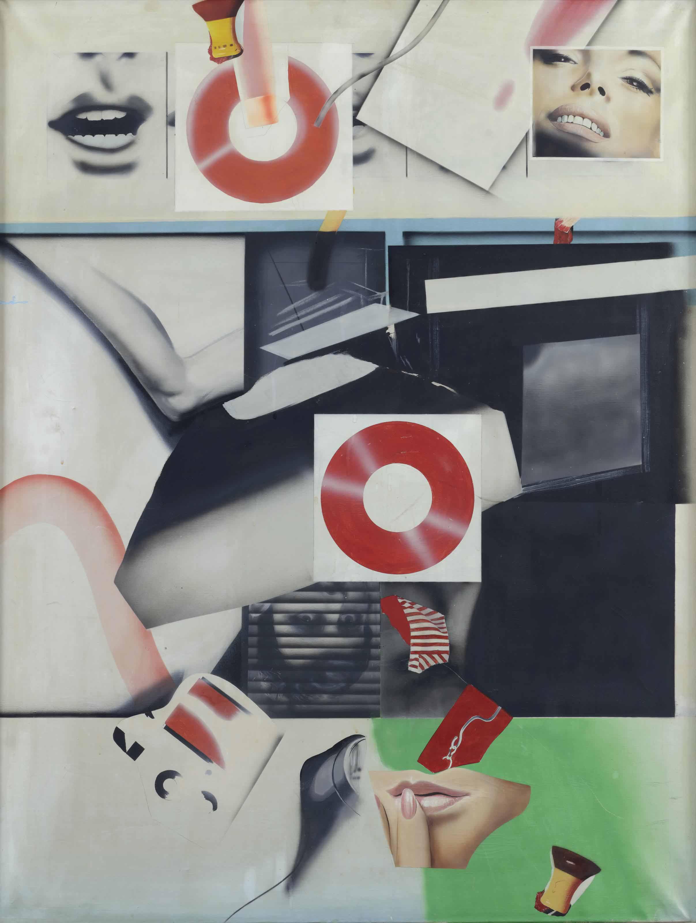Peter Klasen-The Fire Mouth 1965