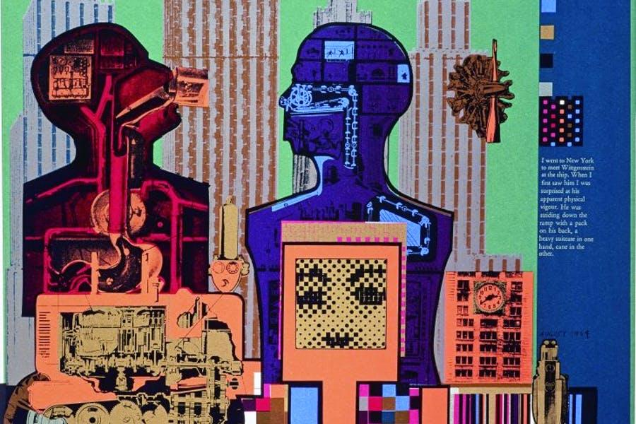Wittgenstein in New York-Eduardo Paolozzi-1965