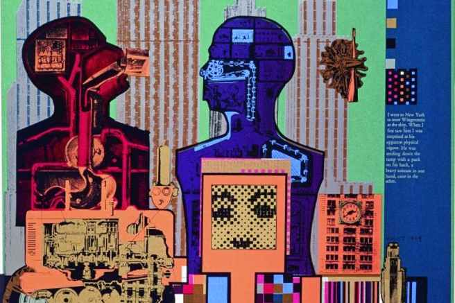 Wittgenstein in New York-Eduardo Paolozzi-1965