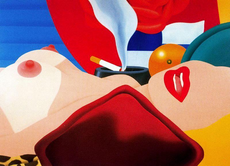 The Great American Nude 99-Tom Wesselman 1968