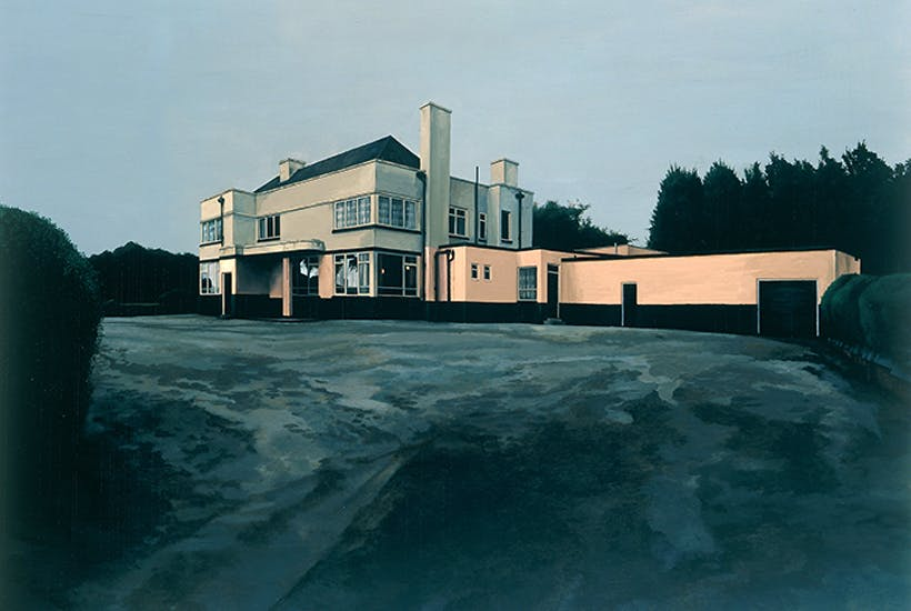 Scenes From the Passion:The Hawthorne Tree-George Shaw 2001