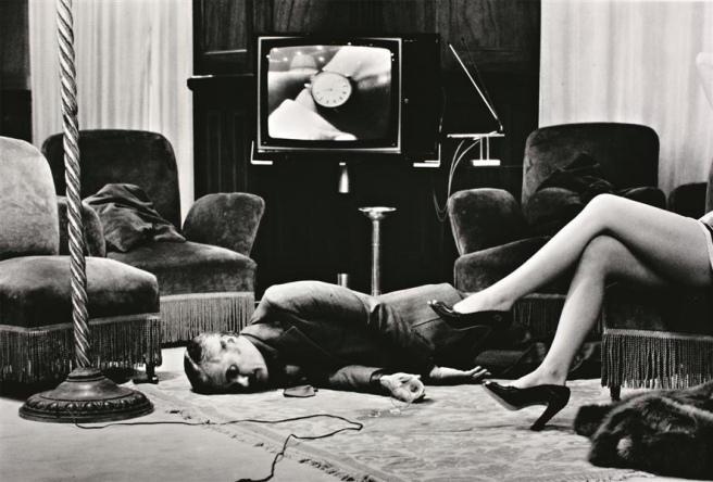 T.V Murder, Cannes-Helmut Newton 1975