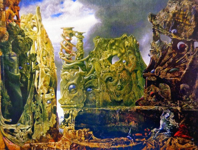 The Eye of Silence-Max Ernst 1943-1944