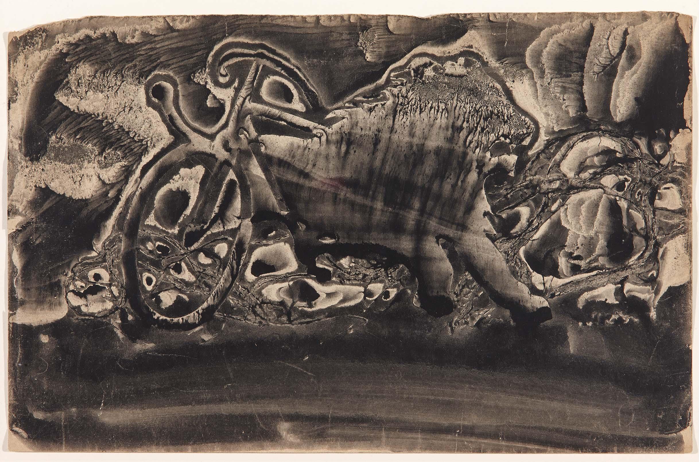 Decalcomania-Oscar Dominguez 1936