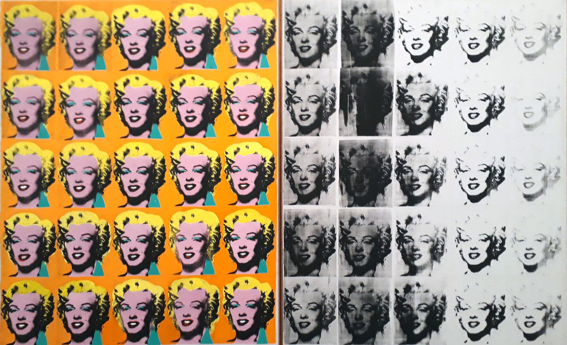 Marilyn Diptych-Andy Warhol 1962