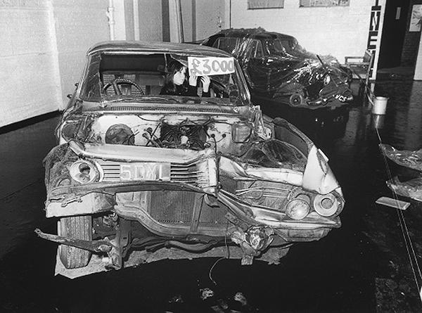 Crashed Cars Exhibition-J.G Ballard 1970