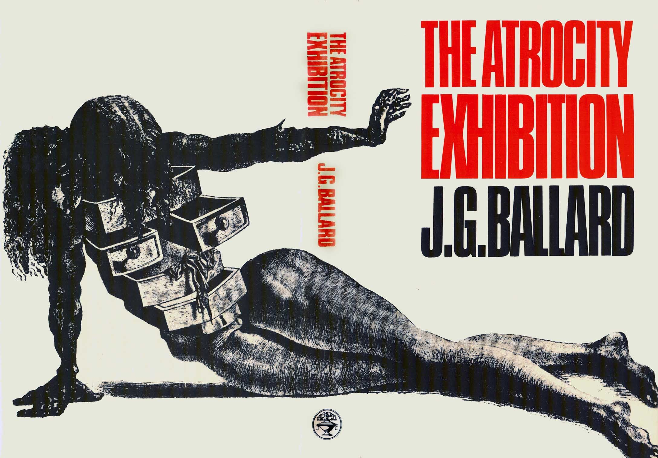 Cover of First UK Edition of The Atrocity Exhibition-J.G Ballard 1970-Based on Salvador Dali