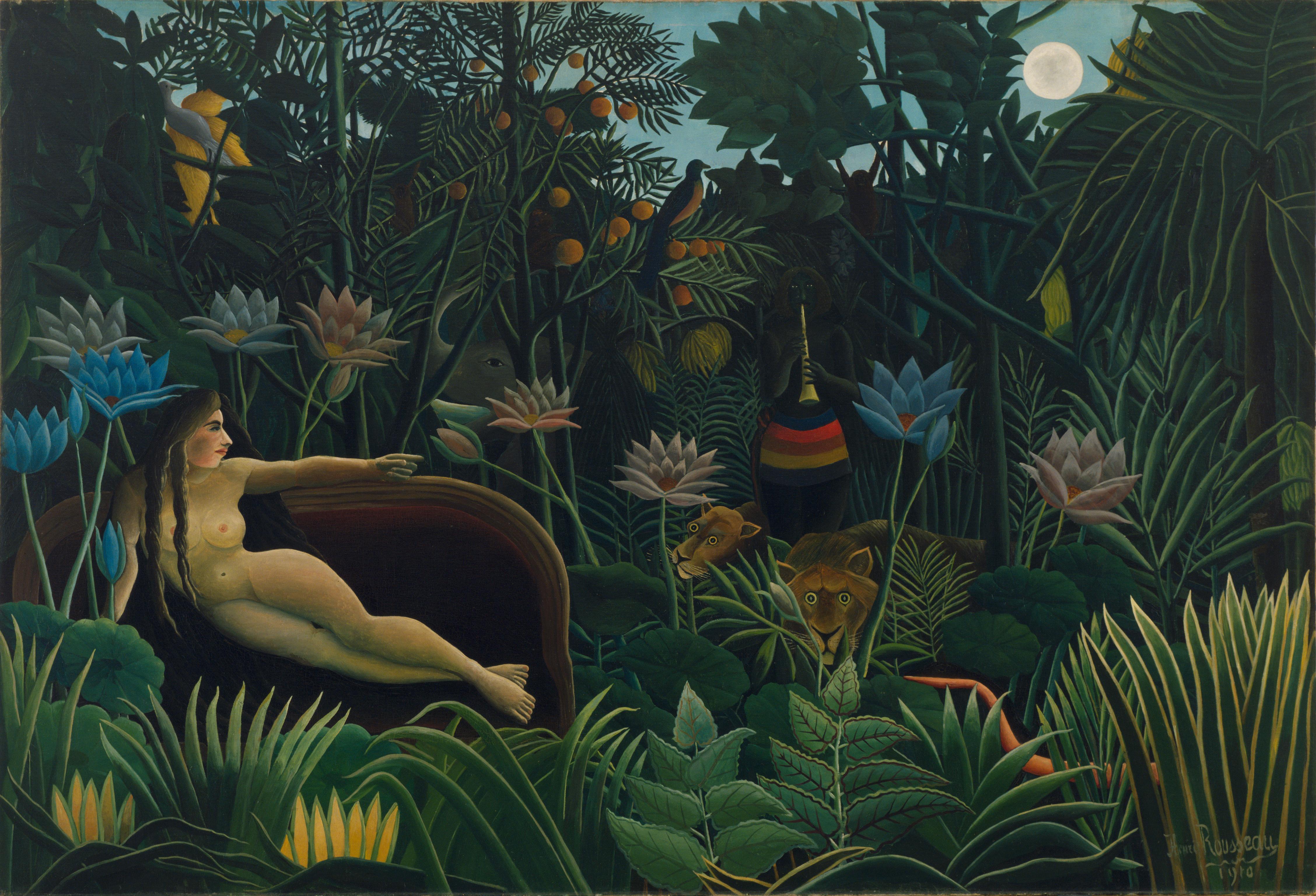 Le Reve-Henri Rousseau 1910