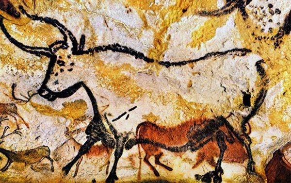 Bison-Horses-Lascaux circa 17,000BP