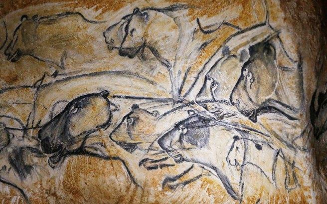 Lions-Chauvet-Pont-d'Arc Cave circa 30,000 to 32,000BP