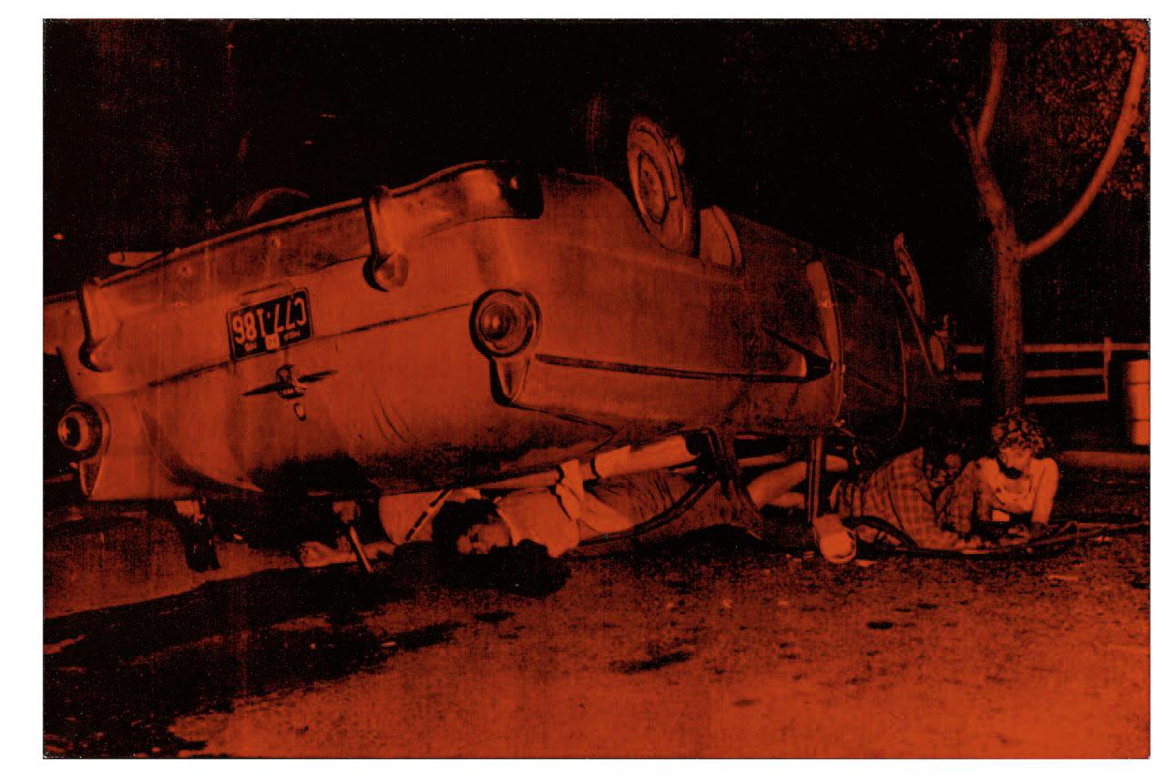 Orange Car Crash-Andy Warhol 1963