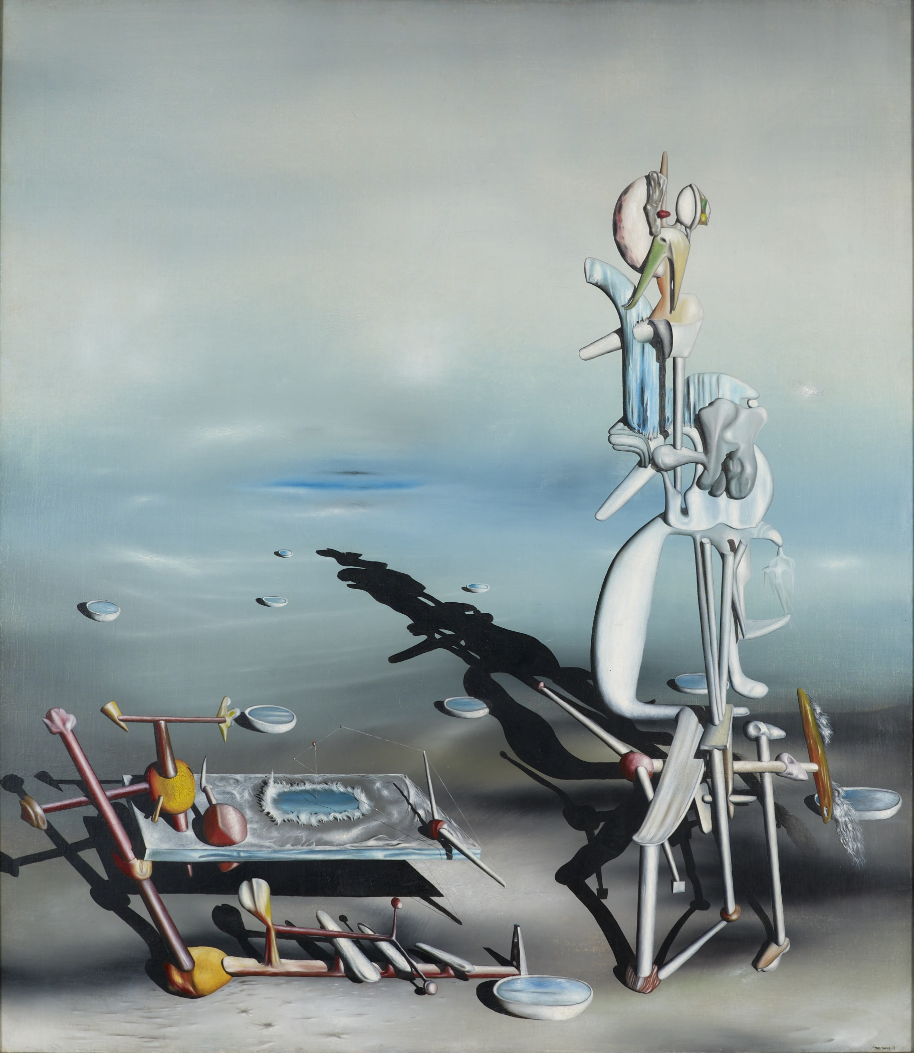 Indefinite Divisibility-Yves Tanguy 1942