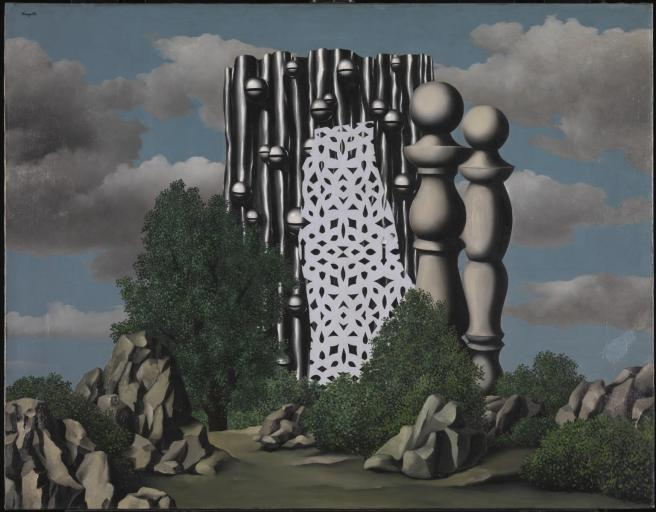 The Annunciation-Rene Magritte 1930