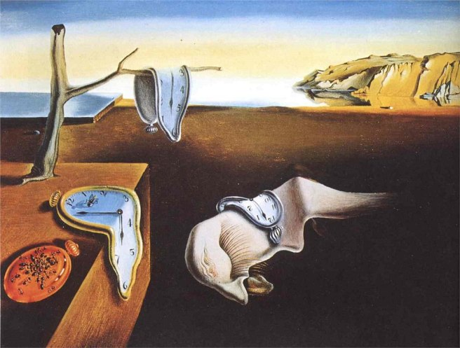 The Persistence of Memory-Salvador Dali 1931