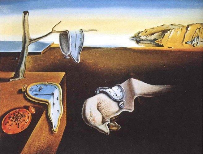 The Persistence of Memory-Salvador Dali 1931