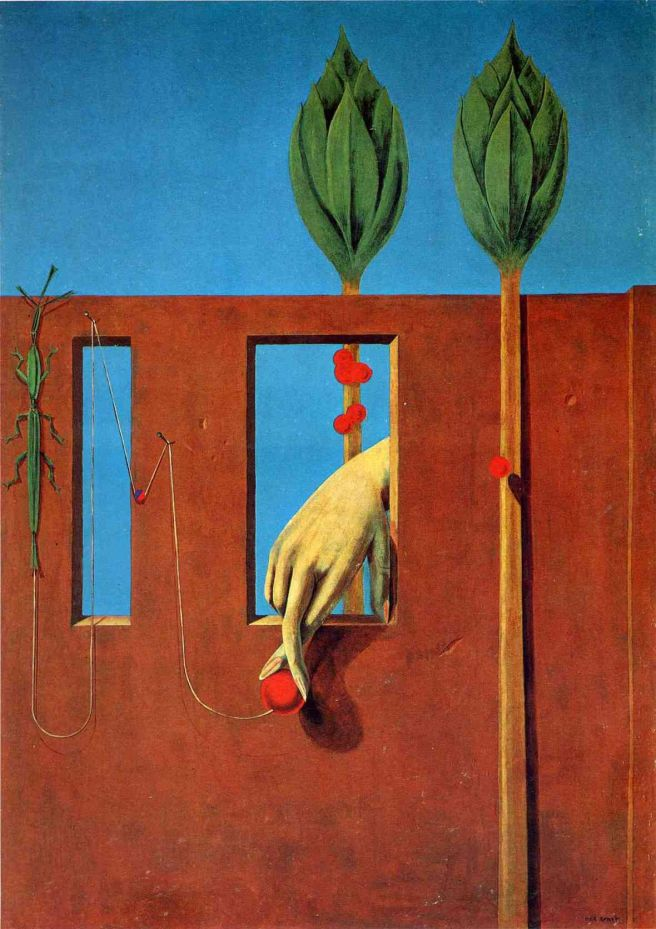 At the First Clear Word-Max Ernst 1923
