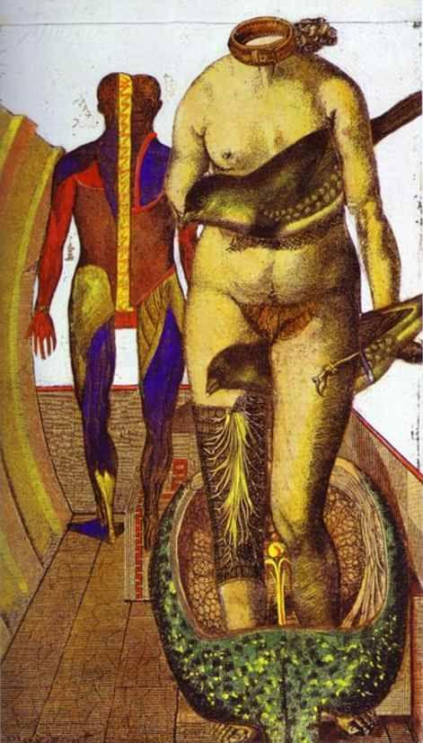 The Word or Woman-Bird-Max Ernst 1921