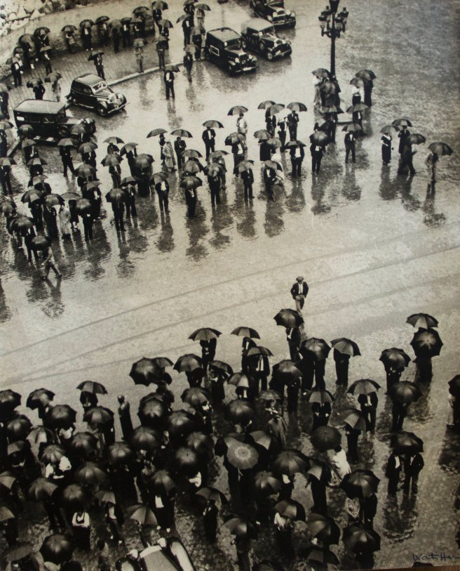 Rally at Via Durutti-Kati Horna 1937