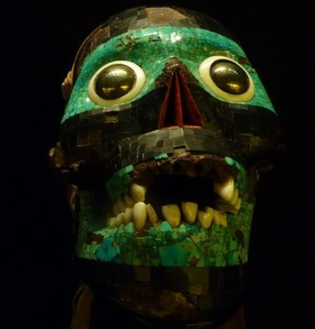 Tezcatlipoca Smoking Mirror Skull