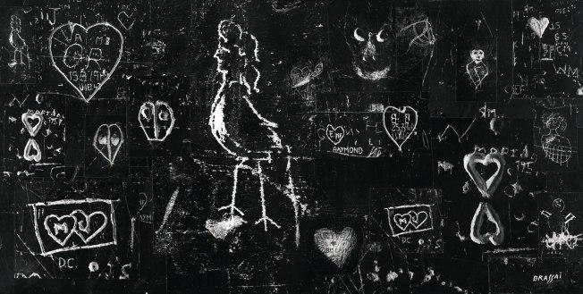 Graffiti c 1940's-Brassai