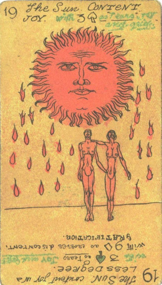 Austin Osman Spare-Tarot-The Sun