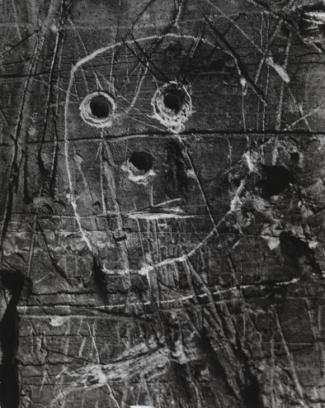 Graffiti c. 1950s -Brassai