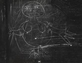 Graffiti c. 1950s-Brassai