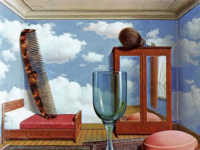 Rene Magritte-Personal Values 1952
