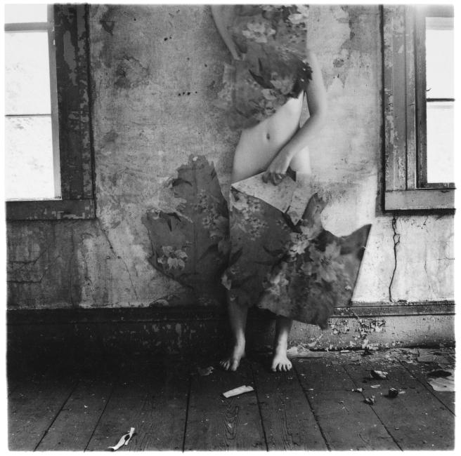 Francesca Woodman, From Space2, Providence, Rhode Island, 1976