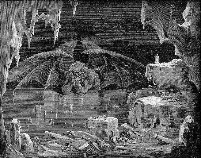 Gustave Dore-Lucifer 1861